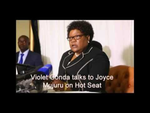Joice Mujuru talks to Violet Gonda on Hot Seat