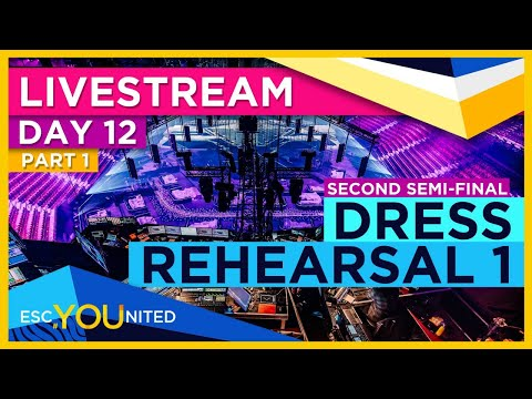 Eurovision 2021: Semi Final 2 - First Dress Rehearsal Live Stream (From Press Center)