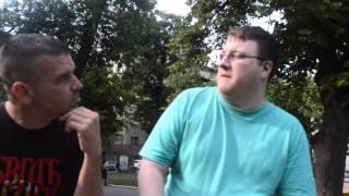 Talking to an Englishman  about Serbia