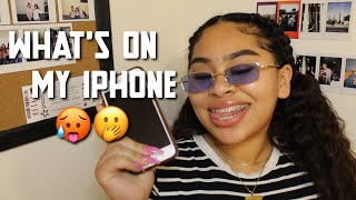 WHATS ON MY IPHONE 7