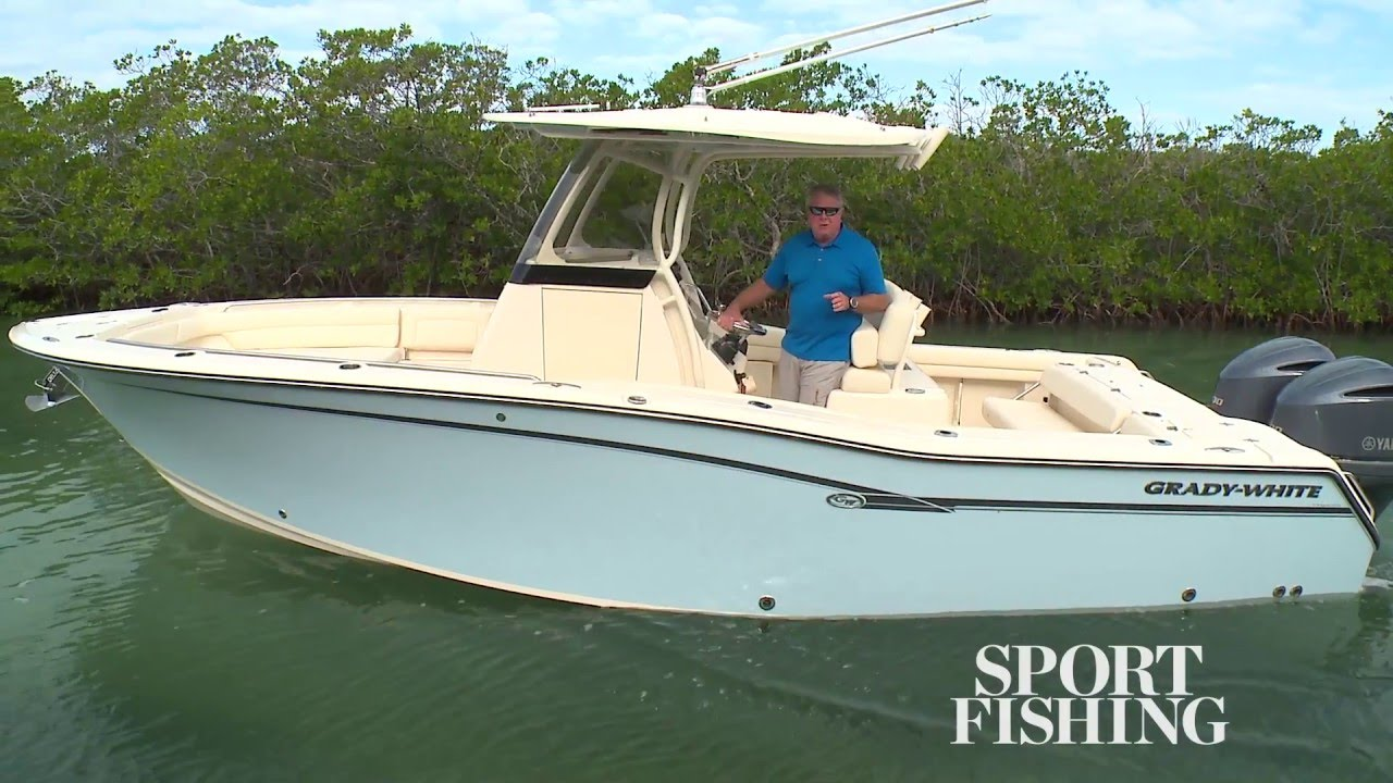 Sport Fishing Magazine Video Review of Canyon 271 FS