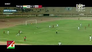 #مباراة_ودية| منتخب النيجر(محلي) في مواجهة المنتخب الوطني المغربي (محلي).#نيامي#النيجر