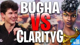 SEN Bugha 1 VS 1 RS ClarityG | Fortnite Creative 1v1 *INSANE NA BUILD FIGHTS*