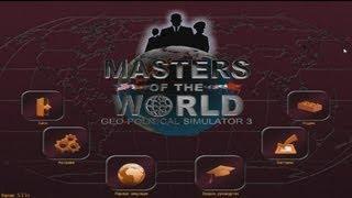 Master of the world: Geopolitical simulator 3 Справка для начинающих 3 часть
