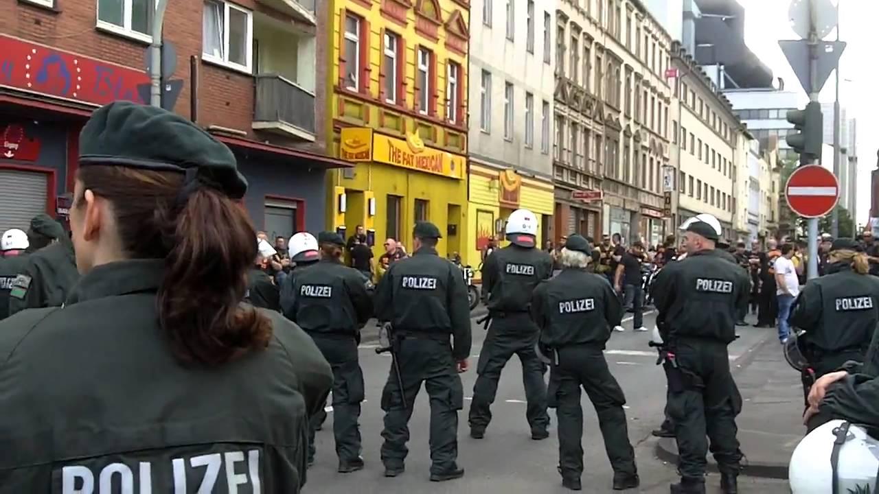 Schlägerei Bandidos Hells Angels Duisburg 8 5 2011