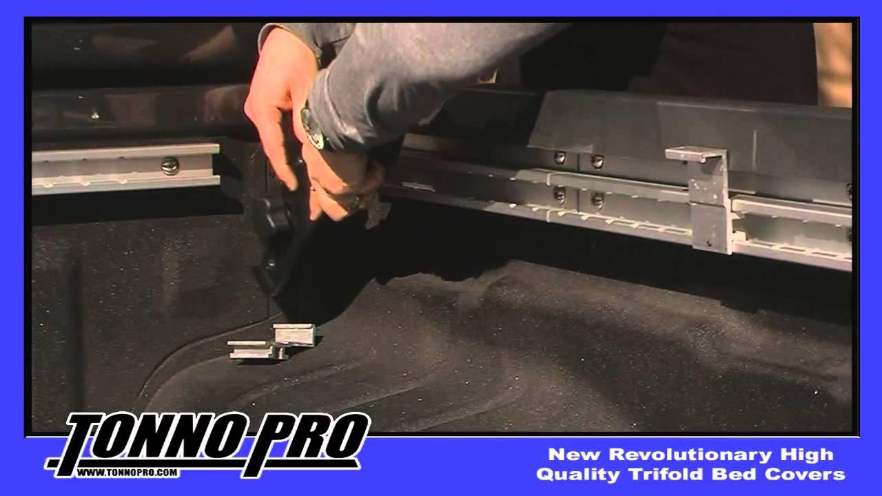 Tonnopro Tonnopro Tri Fold Utility Track Installation