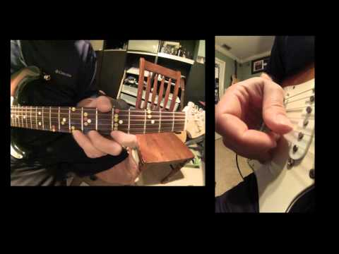 Improvisational Blues Jam in A with Lesson afterwards.wmv