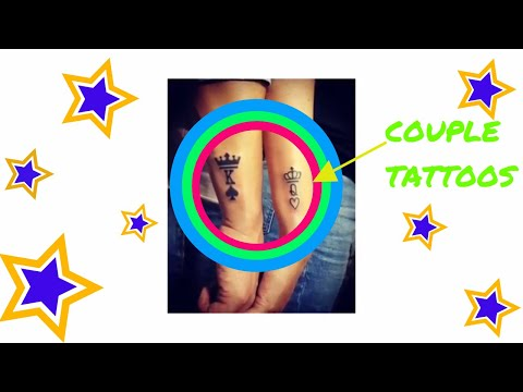 10  Matching Couple Tattoos Creative Designs