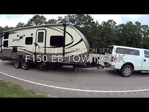 travel trailer towing with ecoboost f150 max tow youtube. Black Bedroom Furniture Sets. Home Design Ideas