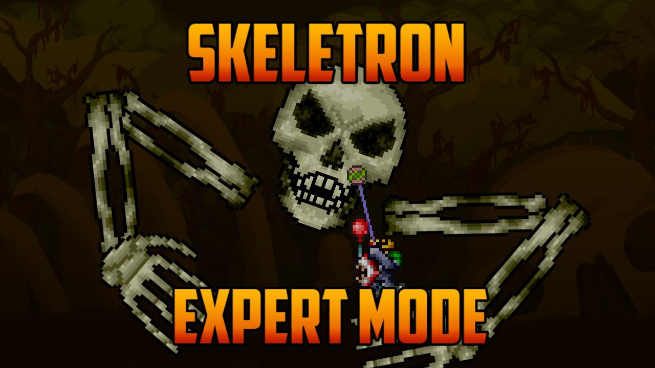 Terraria Skeletron Expert Mode Yoyo Guide Youtube