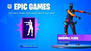 "VOICI HOW TO RESURMENT ""FREE"" THIS EMOTE ""WINDMIlL FLOSS"" on Fortnite! (SEASON 10)"