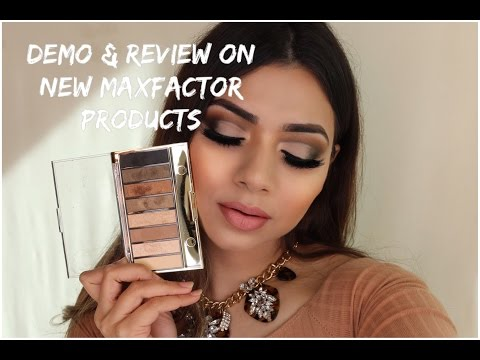 FIRST IMPRESSION ON THE NEW MAXFACTOR EYE CONTOURING PALETTES  & MORE