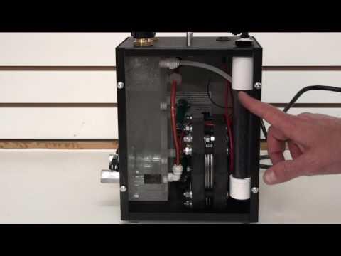 Hydrogen Breathing machine. Molecular Hydrogen H2 gas generator