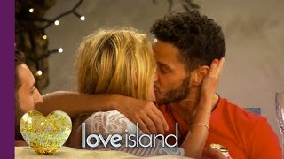 First Kiss Of Love Island 2016 - Love Island 2016
