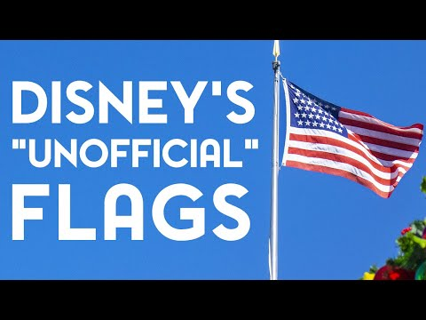 Disney's Unofficial Flags On Main Street USA