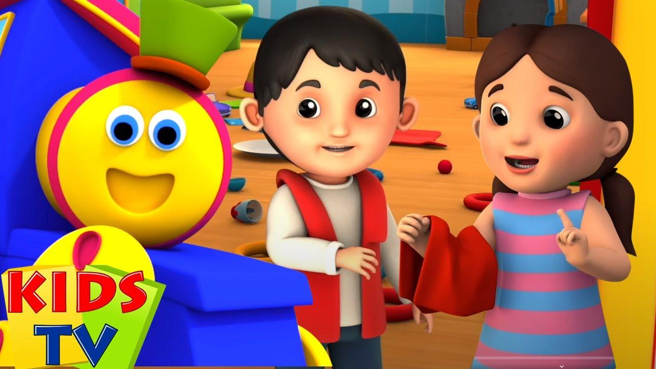 Bob kerata api | pembersihan pahlawan super | Kartun pendidikan | Kids Tv Indonesia | Lagu anak anak