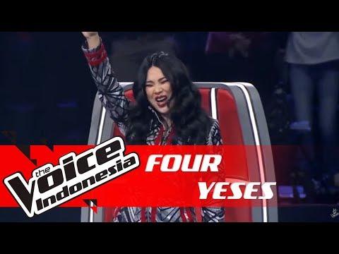 Modal Suara Unik, Semua Coach Berbalik! | FOUR YESES | The Voice Indonesia GTV 2018