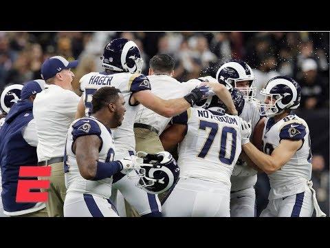 Rams' resiliency led them to NFC Championship - Tom Jackson | NFL Primetime