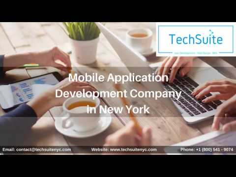 Mobile App Development Company in New York   TechSuite NYC