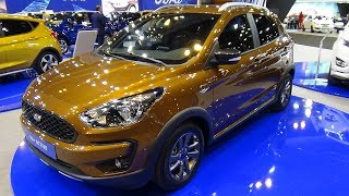 2018 Ford Ka+ Active 1.5 TDCi 95 Stage 6.2 - Exterior and Interior - Salon Madrid Auto 2018