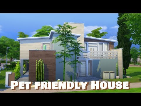 Sims 4 | House Building | Pet Friendly House (Newcrest Townhouses)