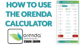 How to use the Orenda App & LSI Calculator