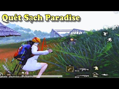PUBG Mobile | Bay Xuống Sau Vẫn Quét Sạch Paradise Resort