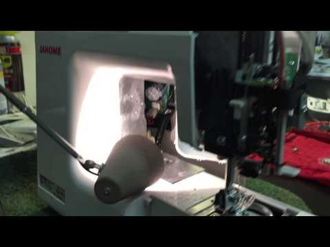 Janome 8077 error code E1 fuse replacement