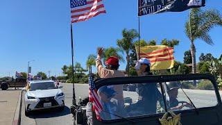 LIVE: Dân Mỹ gốc Việt quận Cam diễn hành xe ủng hộ TT Trump