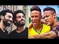 FAMOUS FOOTBALLERS and his DOUBLE ● NEYMAR, SALAH, RONALDO, MESSI, IBRAHIMOVIC
