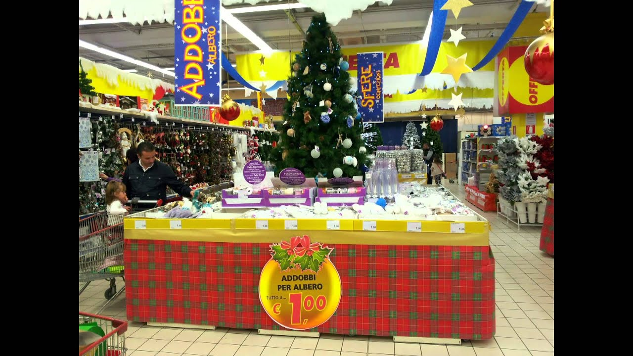 Deco Natale Auchan Pompei 2014 Youtube