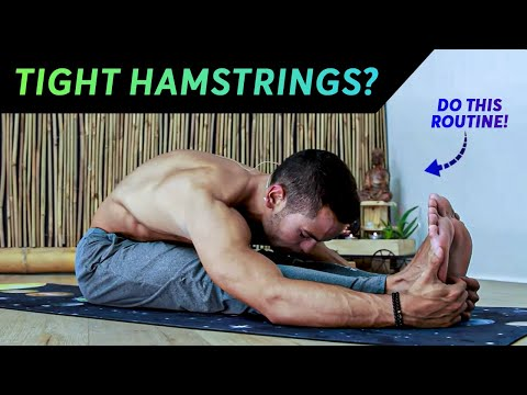 20 Minutes Yoga Routine for Beginners (Hamstrings & Hips Flexibility Routine)