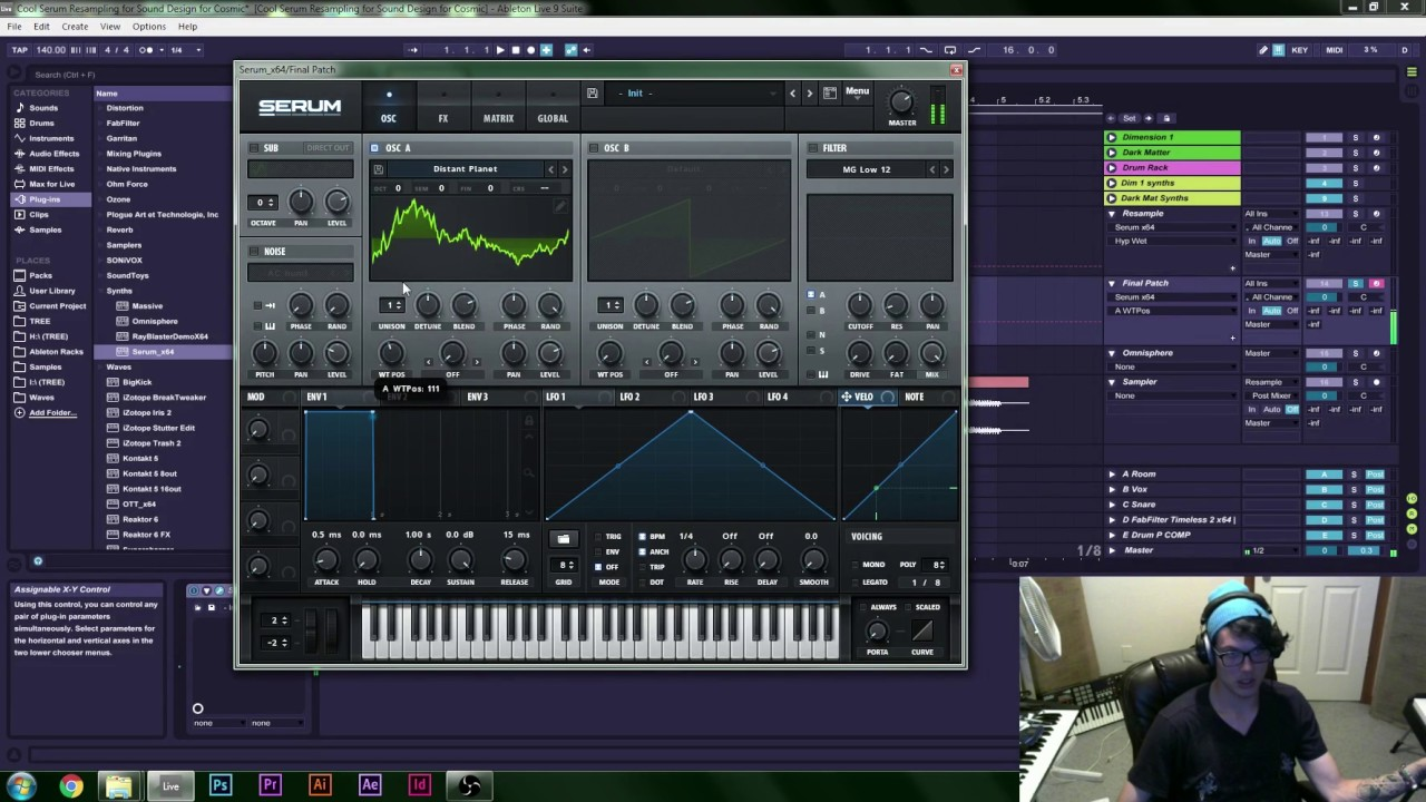 Advanced Sound Design Tutorial - Omnisphere and Serum Re-Synthesis