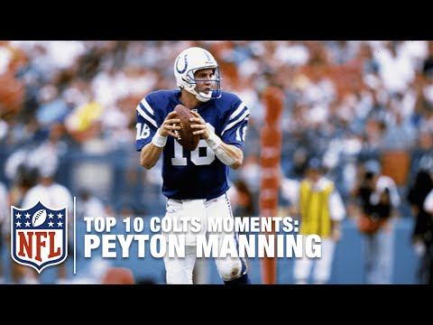 Top 10 Peyton Manning Colts Moments | NFL
