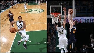 Gordon Hayward & Giannis Antetokounmpo Trade HUGE Dunks!