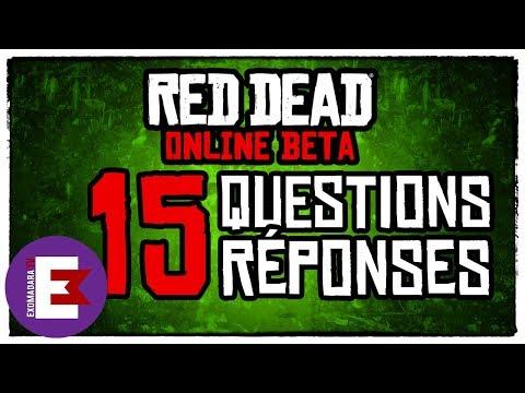RED DEAD ONLINE 15 QUESTIONS RÉPONSES RÉCURRENTES (GLITCH, DATE DE SORTIE, CONTENU ETC...)