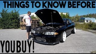 5 things I DISLIKE about my R32 SKYLINE GTST.....This was A struggle...