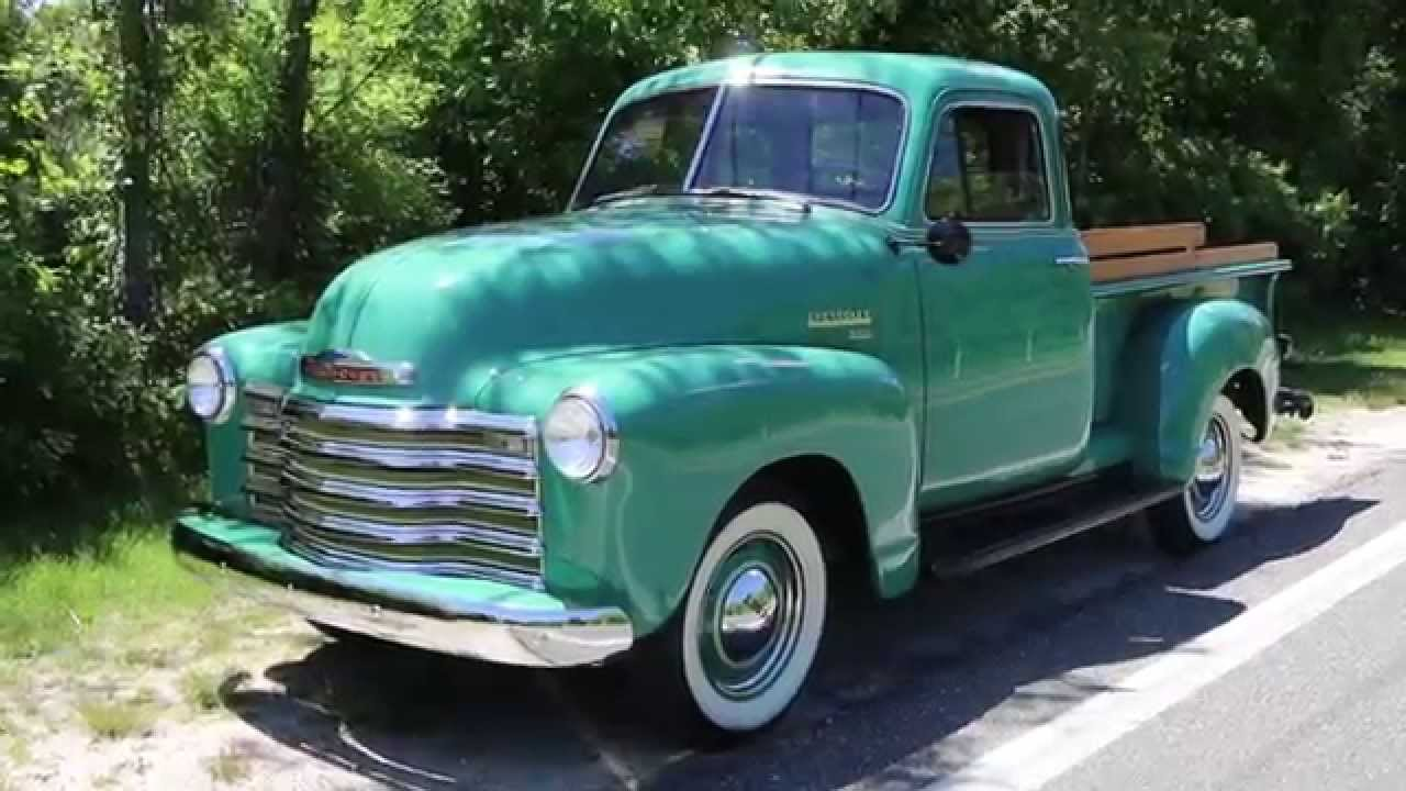 1951 chevrolet 3100 5 window pick up truck for sale youtube for 1951 chevy 5 window pickup for sale