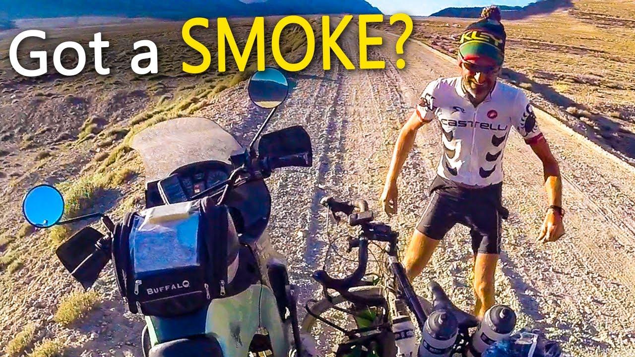 Found the World's Craziest Cyclist in Tajikistan