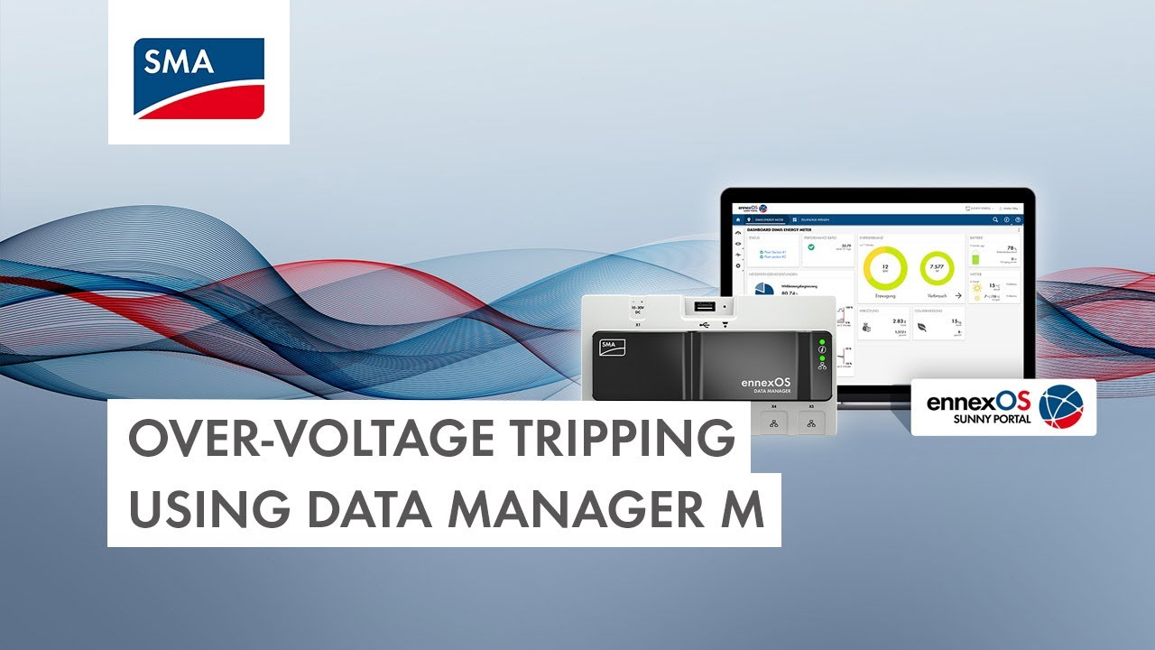 Download Tech Tip: Configuring 10-minute average Over-Voltage tripping using Data Manager M