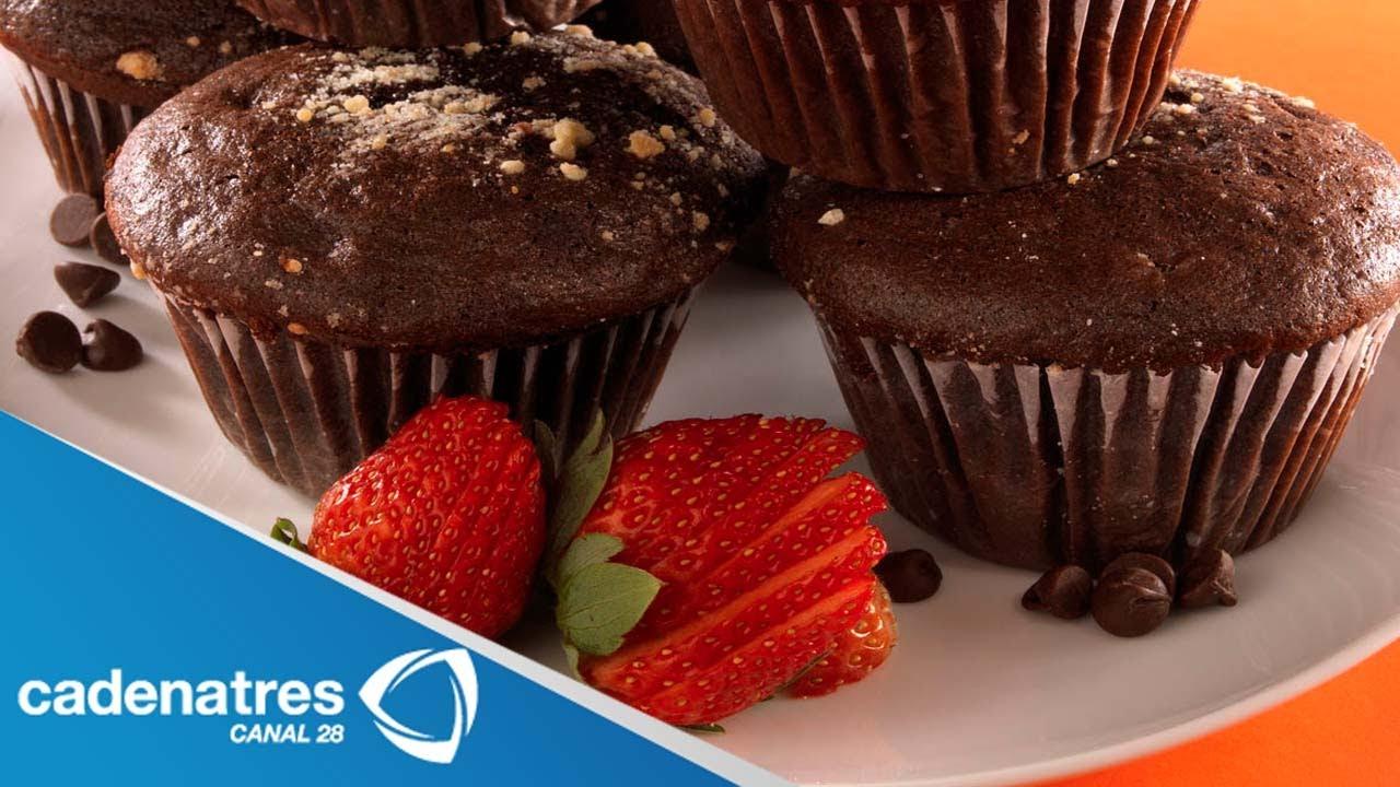 Receta Para Preparar Muffins De Microondas Receta De Muffins Receta De Postres