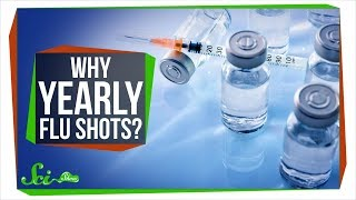 Why Do We Need Yearly Flu Shots, but Not Measles Shots?