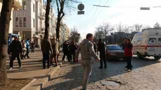 09 03 14 ДРАКА Харьков  Защитники Харькова и Евромайдан против 11