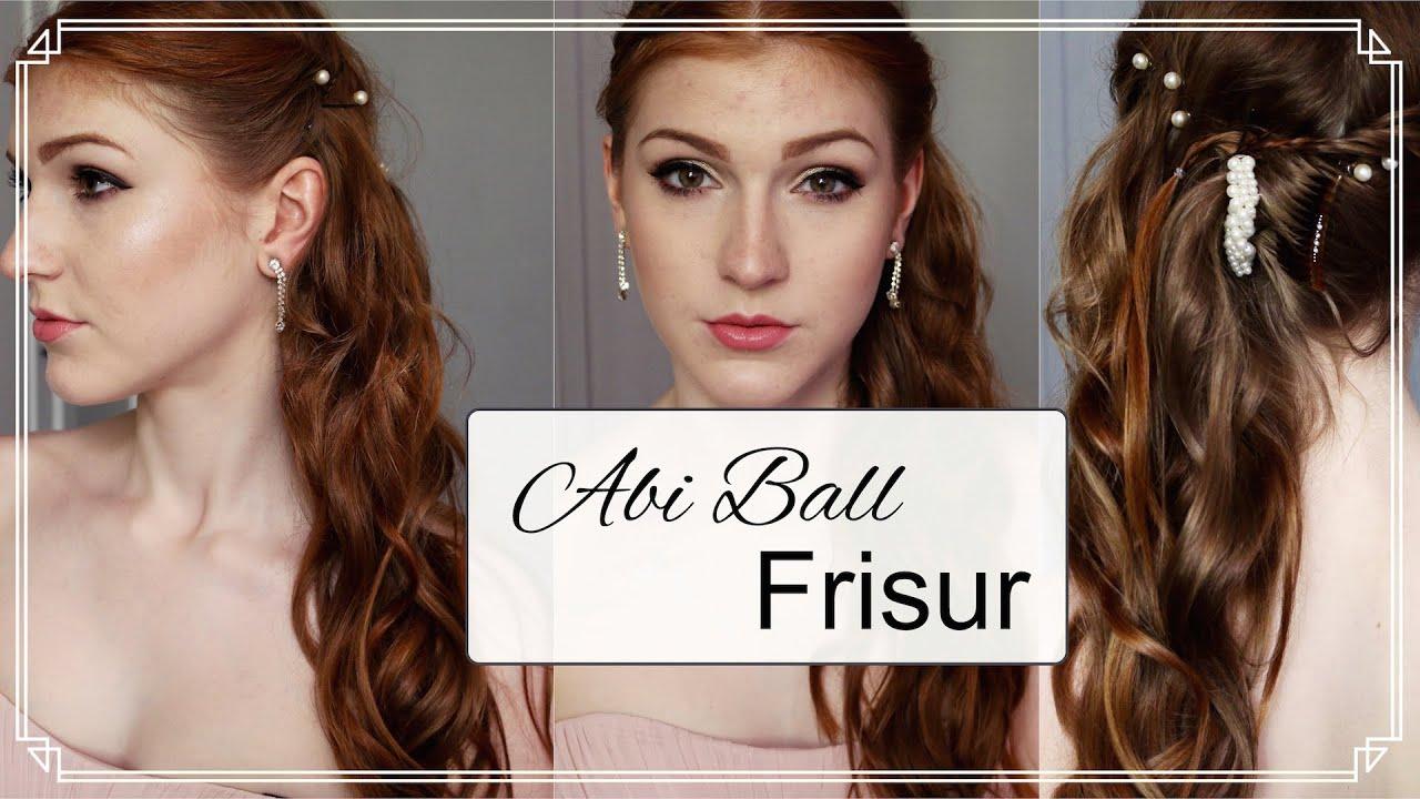 Ball frisur und make up