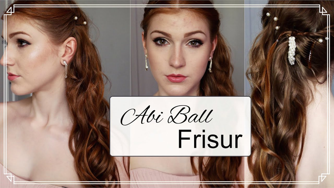 Einfache ABI BALL FRISUR  Tutorial  YouTube
