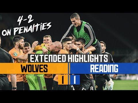 Penalty Drama! Wolves 1-1 Reading | Carabao Cup Highlights