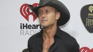Tim McGraw Is Not a Cool Dad