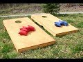 How to Build a Regulation Cornhole Set