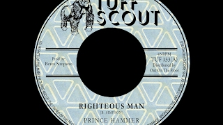Prince Hammer - Righteous Man - Tuff Scout TUF 133