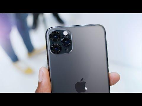 Смотреть iPhone 11 Pro Impressions: What a Name! онлайн